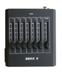 Затемнения, диммер, 6CH ручной DMX контроллер