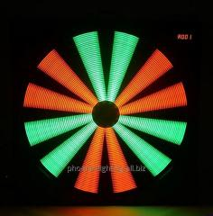Dj Light, LED Effect,RGB LED Fan Effect Light