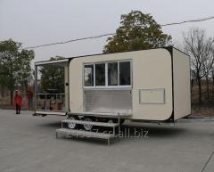 Food van FV-68-25,Food Van with Commercial