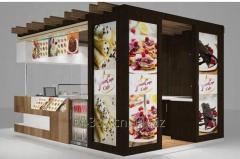 Outdoor food kiosk,Outdoor Food Kiosk &