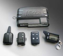 Devices anticreeping automobile