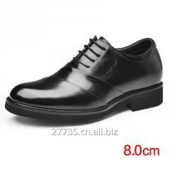 Men's height increasing elevator dress shoes get