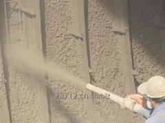 Gunite Hose Used in Concrete Construction...