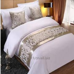 RAYUAN Champagne Floral Bedspreads Bed Runner