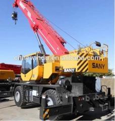 Rough Terrain Crane Sany 120ton mobile crane
