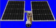 5 pulgadas 5X zoom 4G cámara solar