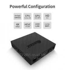 QINTAIX Amlogic s905x2 android tv box 4gb ram 32gb