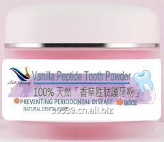 Food Grade Vanilla Peptide Tooth Powder Teeth