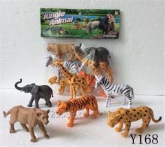 Wild animal cat dog cow horse model toy