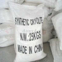 Cryolite for resin