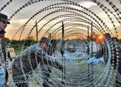 网型的围墙