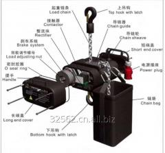 China stage Simple electric chain hoist