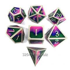 Custom metal dice