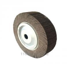 Abrasive aluminium oxide flap wheel