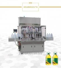 Filling machine for oil milk beer water vodka