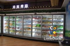 Multi-Deck Upright Glass-Door Freezer