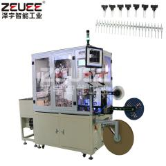 Electric connector automatic inserting equipment