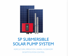 3HP-20HP Solar Pump system