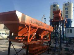 Very popular HZS 25 small concrete batching plant