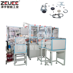 Gear box automatic assembly and tapping machine
