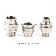 Explosion-proof metal union coupling IP66