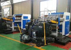 Auto feed die cutting creasing machine