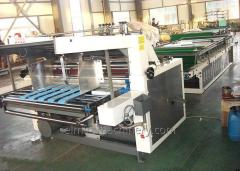 Semi-auto flute laminating machine
