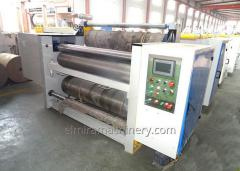 Сorrugated kartong skin Machine
