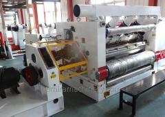 Fingerless single facer corrugator machine