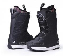 High end high pressure ski shoes BOA wire ski