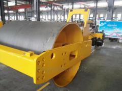 Hydraulic vibratory roller SY142D SYNBON Hydraulic Double drive