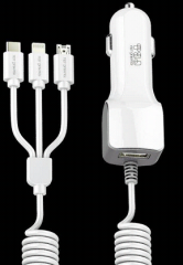 827A+ 3.4A fast charging car charger Quick Car