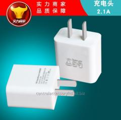 635 2.1A Mobile phone Wired Wall Charger Fast