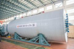Organic heat transfer material thermal oil heater