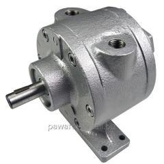 Пластинчатый пневмодвигатель лапы Тип