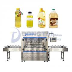 Automatic weighing edible oil filling machine