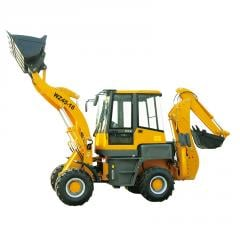 SYNBON mini articulated backhoe loader excavator SY746