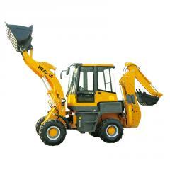 SYNBON mini articulated backhoe loader excavator
