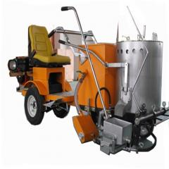 Hot Melt Thermoplastic Paint Highway Road Line Marking Machine