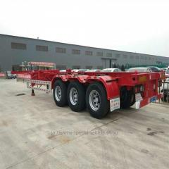 3 Alexs 48FT Container Skeleton semitrailer