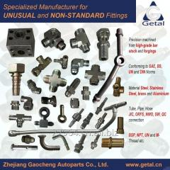 Stainless Steel, Steel Hydraulic Fittings for