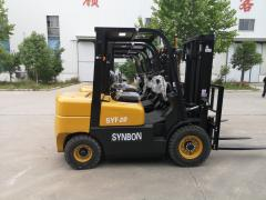 Truck-mounted forklifts