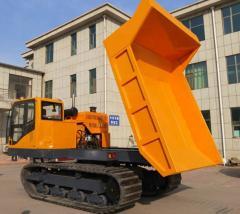 Agricultural new  5 ton 6ton 8ton 10ton crawler dump truck for sale