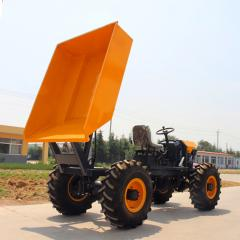 1 ton four wheel drive mini dumper for