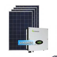 20kw solar power station