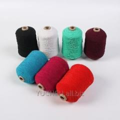 Chinese rubber  covered yarn100/75/75 black white
