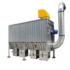 Industrial air intake cartridge dust collector