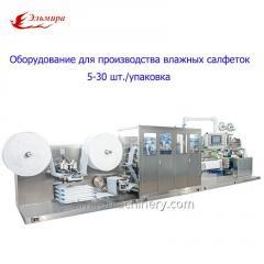 Equipos para la producción de servilletas...