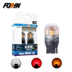 T20 7440 Car LED Bulb W21W W3X16Q 15SMD Turn Signal Reversing Light Amber White