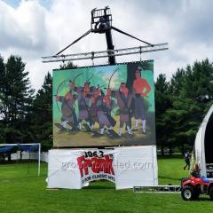 Cветодиодные уличные экраны с шагом 3.91мм